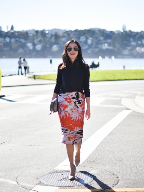 Học fashionista mặc đẹp và đúng mốt ngày xuân - 13