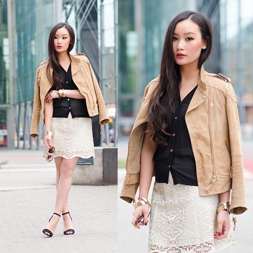 Học fashionista mặc đẹp và đúng mốt ngày xuân - 15