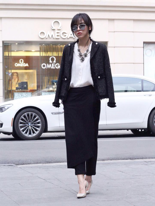 Học fashionista mặc đẹp và đúng mốt ngày xuân - 10