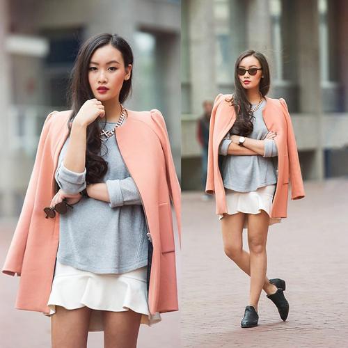 Học fashionista mặc đẹp và đúng mốt ngày xuân - 16