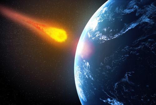 Clip sao băng khổng lồ đâm vào Trái Đất
