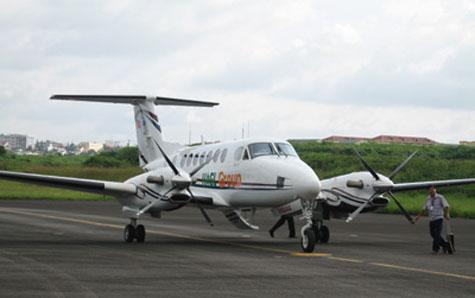 Tổng công ty Quản lý bay sẽ mua lại máy bay King Air của bầu Đức - 1