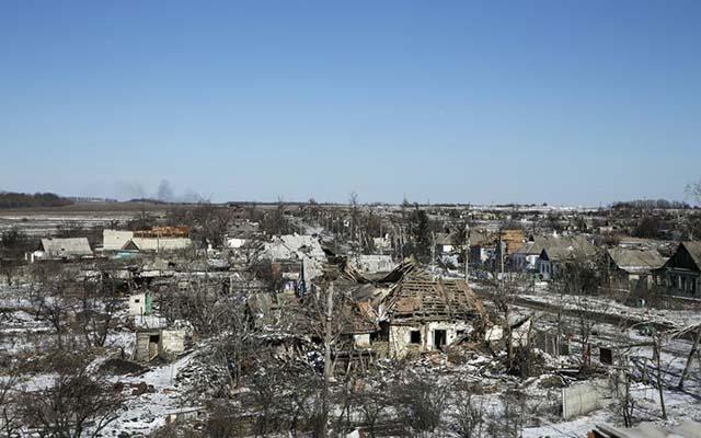 """Ukraine: Cuộc sống ở """"thành phố chết"""" Debaltseve - 1"""