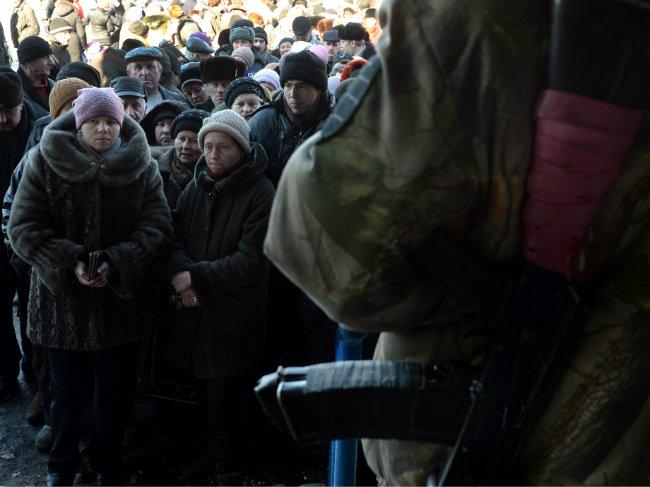 """Ukraine: Cuộc sống ở """"thành phố chết"""" Debaltseve - 3"""