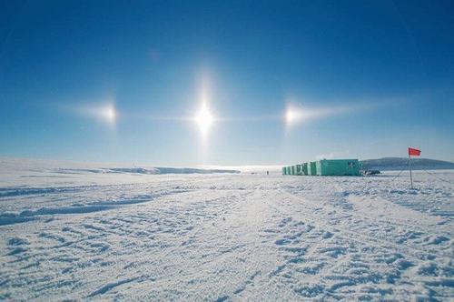 """Video: """"3 mặt trời"""" xuất hiện cùng lúc tại Nga - 2"""