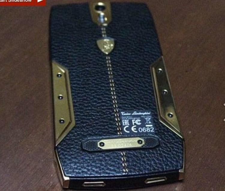 8 điều ít biết về điện thoại cao cấp Lamborghini 88 Tauri - 6