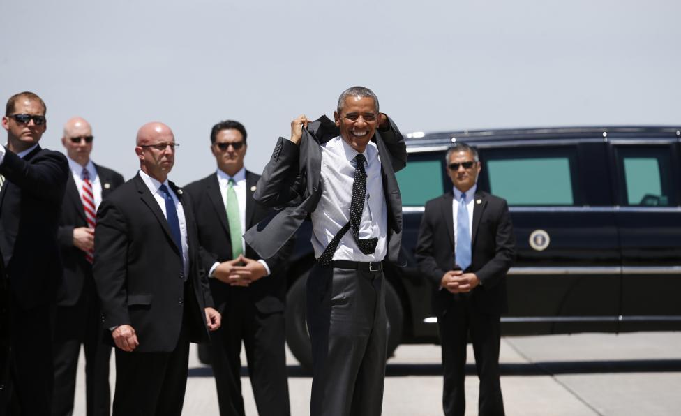 Chùm ảnh: Công việc của mật vụ bảo vệ tổng thống Mỹ - 12