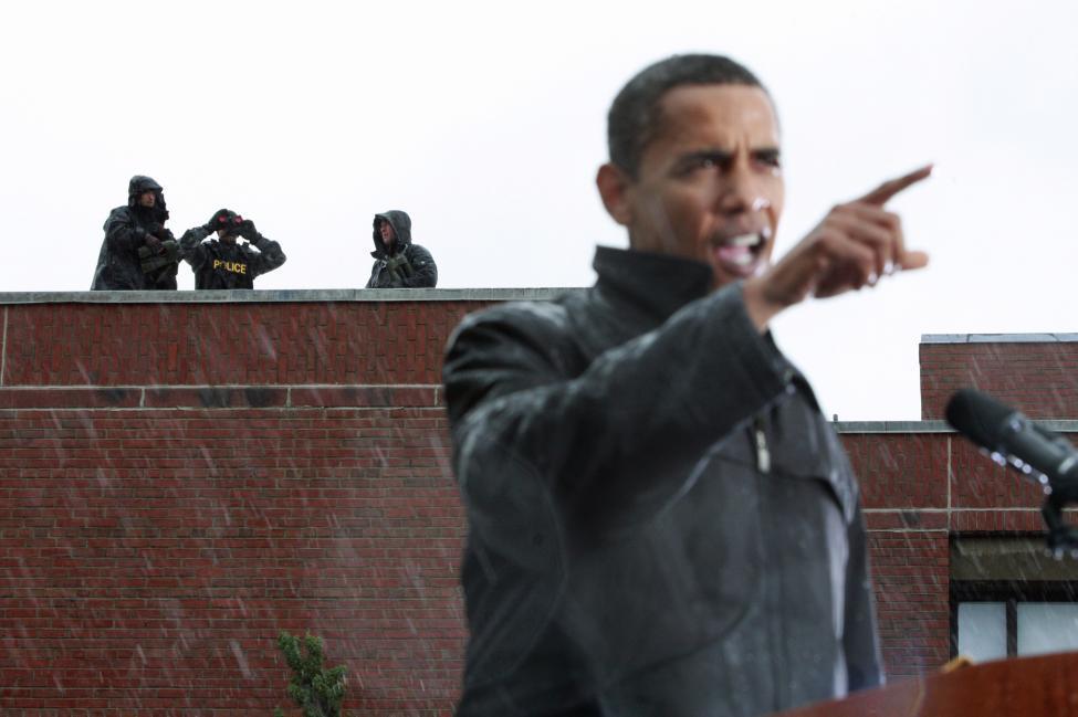 Chùm ảnh: Công việc của mật vụ bảo vệ tổng thống Mỹ - 11
