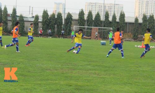 """U23 VN """"choáng"""" với bài tập """"dị"""" của HLV Miura - 3"""