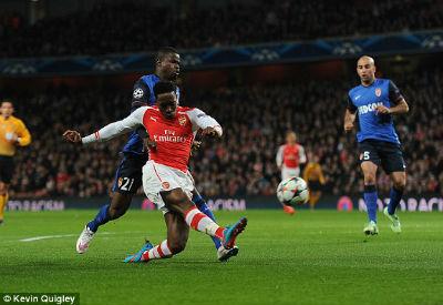 TRỰC TIẾP Arsenal - Monaco: Dấu chấm hết (KT) - 6