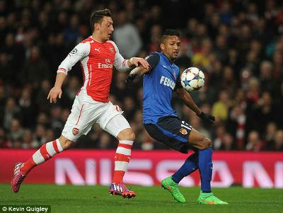 TRỰC TIẾP Arsenal - Monaco: Dấu chấm hết (KT) - 7