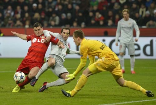 Leverkusen - Atletico: Những cái đầu nóng - 1
