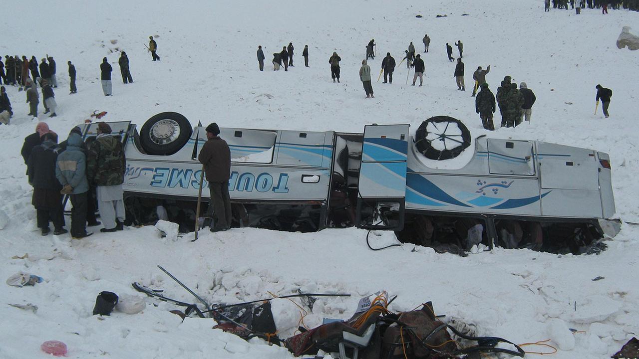 Afghanistan: Lở tuyết kinh hoàng vùi chết 124 người - 1