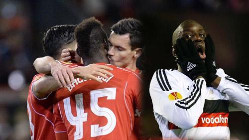 Vòng 1/16 Europa League: Cửa Liverpool sáng nhất - 1