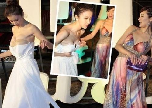 1001 lỗi hớ hênh váy áo khiến mỹ nữ châu Á đỏ mặt - 2