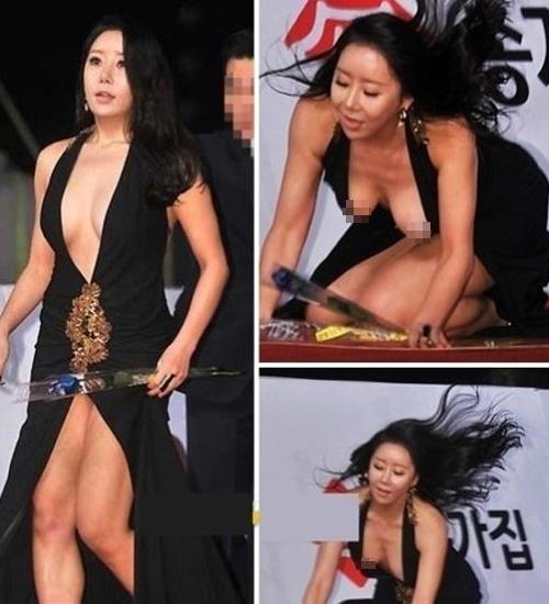 1001 lỗi hớ hênh váy áo khiến mỹ nữ châu Á đỏ mặt - 5