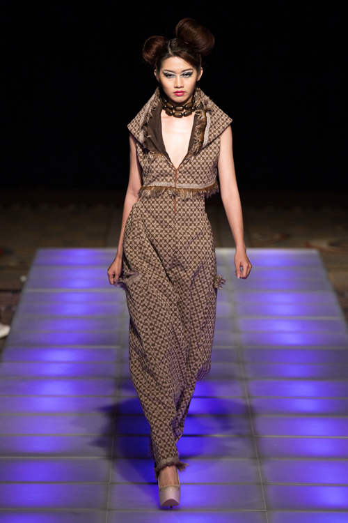 Quỳnh Châu trải lòng sau Tuần lễ thời trang New York - 3