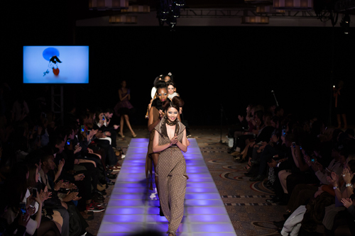 Quỳnh Châu trải lòng sau Tuần lễ thời trang New York - 4