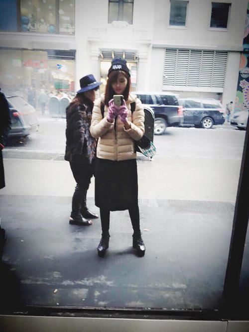Quỳnh Châu trải lòng sau Tuần lễ thời trang New York - 13