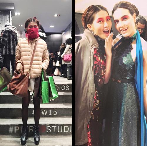 Quỳnh Châu trải lòng sau Tuần lễ thời trang New York - 15