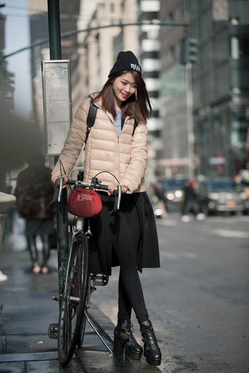 Quỳnh Châu trải lòng sau Tuần lễ thời trang New York - 10