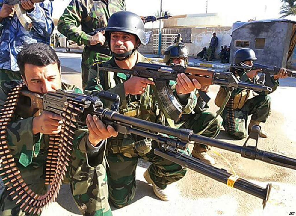 """Tướng Mỹ: Iraq sẽ """"nướng"""" 25.000 quân vào lò lửa của IS - 2"""