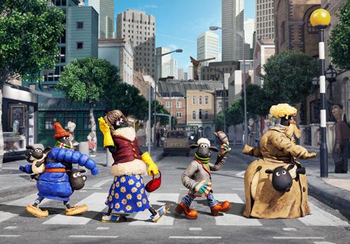 """Hoạt hình """"Cừu quê ra phố"""" khiến khán giả cười nghiêng ngả - 2"""