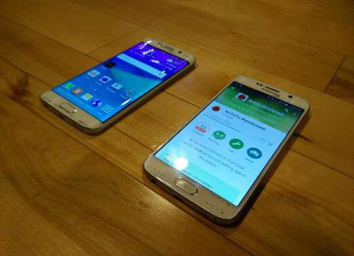 Galaxy S6 và S6 Edge lộ ảnh thực tế - 5