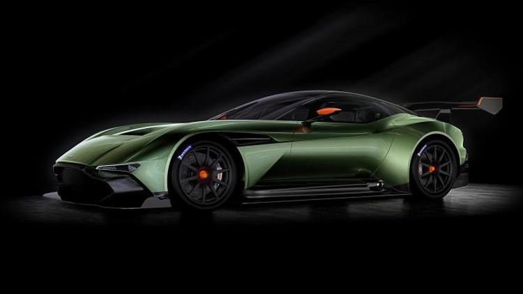 Lộ loạt ảnh siêu xe Aston Martin Vulcan 800 mã lực - 1