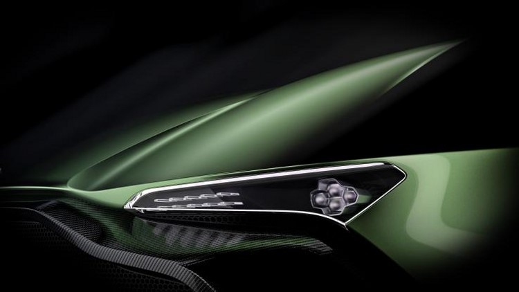 Lộ loạt ảnh siêu xe Aston Martin Vulcan 800 mã lực - 8