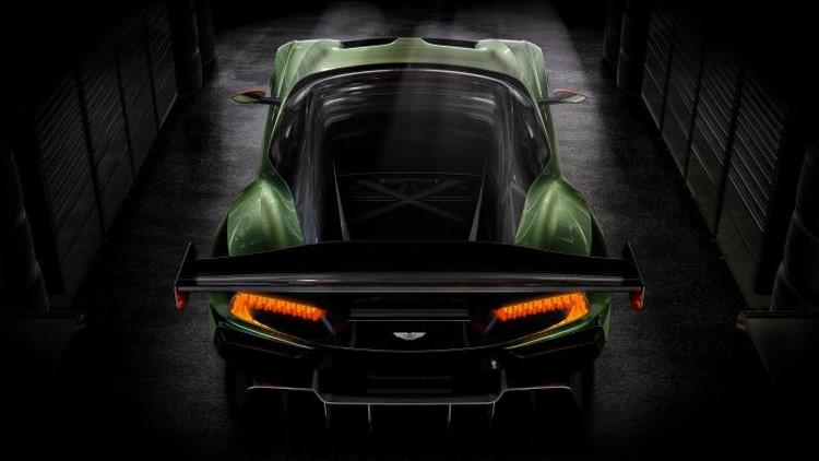 Lộ loạt ảnh siêu xe Aston Martin Vulcan 800 mã lực - 5