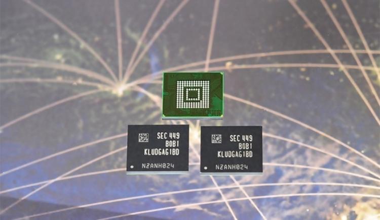 Samsung trình diện bộ nhớ siêu nhanh 128GB UFS 2.0 - 1