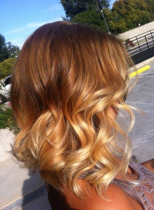 """15 kiểu nhuộm ombre cho tóc ngắn cực """"hot"""" - 14"""