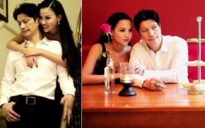 Dustin Nguyễn tình tứ với vợ siêu mẫu trong quán cafe
