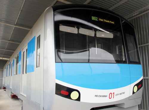 Ngắm mô hình metro đầu tiên tại Việt Nam - 12