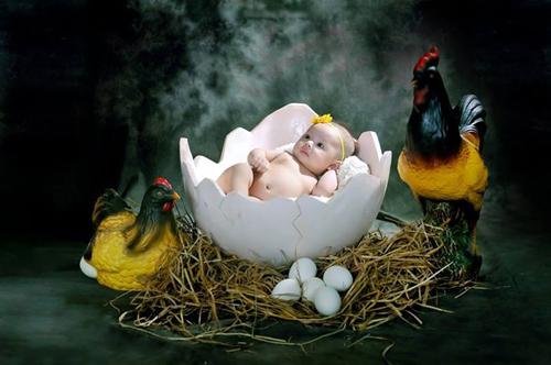 Clip hậu trường chụp ảnh trẻ sơ sinh siêu đáng yêu - 2