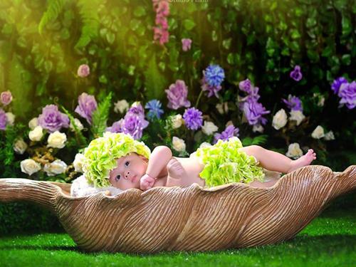 Clip hậu trường chụp ảnh trẻ sơ sinh siêu đáng yêu - 1