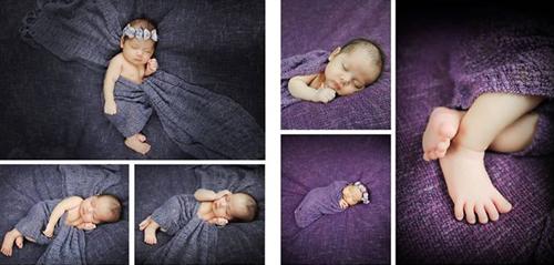 Clip hậu trường chụp ảnh trẻ sơ sinh siêu đáng yêu - 4