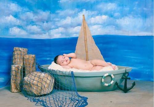 Clip hậu trường chụp ảnh trẻ sơ sinh siêu đáng yêu - 10