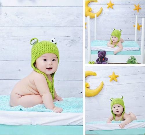 Clip hậu trường chụp ảnh trẻ sơ sinh siêu đáng yêu - 11