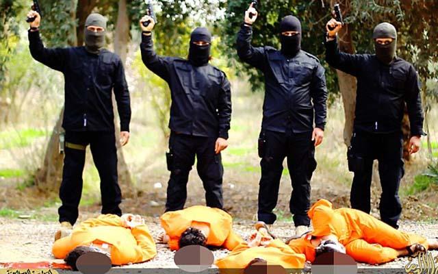 """Phiến quân IS tung video hành quyết dã man bốn """"gián điệp"""" Iraq - 3"""