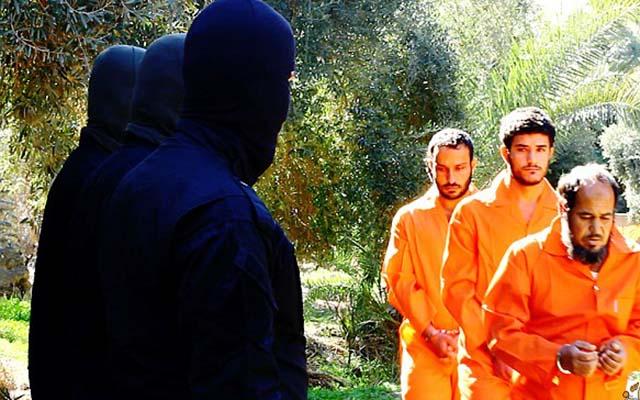 """Phiến quân IS tung video hành quyết dã man bốn """"gián điệp"""" Iraq - 2"""