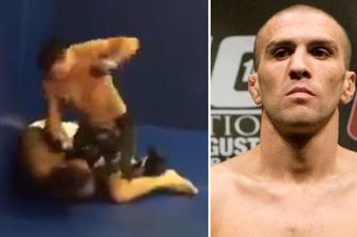 Võ sĩ UFC ra đòn tàn độc với fan đòi thách đấu - 1