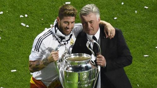 Ramos xếp Ancelotti trên Mourinho, Del Bosque - 1