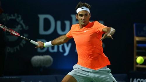 """Coric – Federer: Khuất phục """"Ngựa ô"""" (Bán kết Dubai) - 1"""