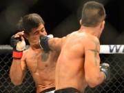 UFC: Cắn răng nhận 12 cú đấm mới chịu thua