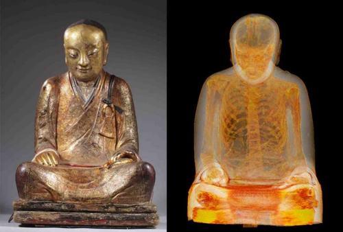 Những trường hợp xác ướp trong tượng ở Việt Nam - 1