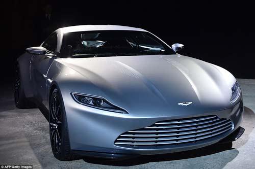 Dàn siêu xe của James Bond lộ diện - 3