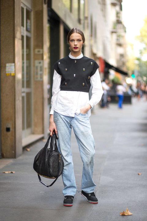 Mặc hấp dẫn như tín đồ đến Milan Fashion week - 13