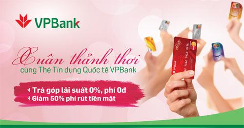 Đón Xuân thảnh thơi cùng thẻ tín dụng Quốc tế VPBank - 1